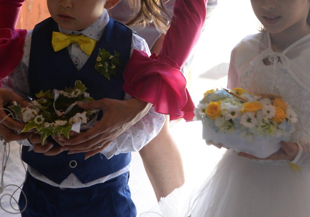 flowergirl e paggetto